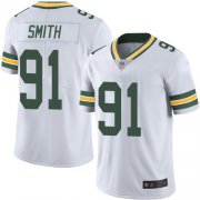 Wholesale Cheap Nike Packers #91 Preston Smith White Men's Stitched NFL Vapor Untouchable Limited Jersey