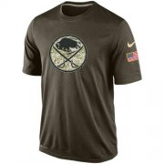Wholesale Cheap Men's Buffalo Sabres Salute To Service Nike Dri-FIT T-Shirt