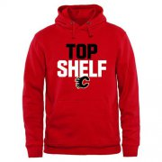 Wholesale Cheap Calgary Flames Top Shelf Pullover Hoodie Scarlet