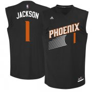 Wholesale Cheap Phoenix Suns 1 Josh Jackson Black 2017 NBA Draft Pick Replica Jersey