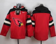 Wholesale Cheap Nike Cardinals Blank Red Player Pullover NFL Hoodie