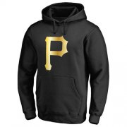 Wholesale Cheap Pittsburgh Pirates Gold Collection Pullover Hoodie Black