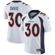 Wholesale Cheap Nike Broncos #30 Terrell Davis White Youth Stitched NFL Vapor Untouchable Limited Jersey