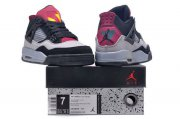 Wholesale Cheap Air Jordan 7Lab4 For Womens Shoes Black/Gray-red