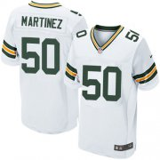Wholesale Cheap Nike Packers #50 Blake Martinez White Men's Stitched NFL Elite Jersey