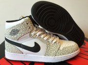 Wholesale Cheap Air Jordan 1 Retro Shoes White/Black