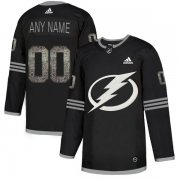 Wholesale Cheap Men's Adidas Lightning Personalized Authentic Black Classic NHL Jersey