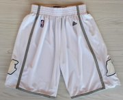 Wholesale Cheap Los Angeles Lakers All White Short