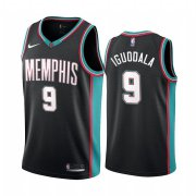 Wholesale Cheap Nike Grizzlies #9 Andre Iguodala Men's Hardwood Classic NBA Black Jersey