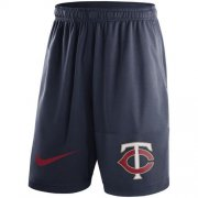 Wholesale Cheap Men's Minnesota Twins Nike Navy Dry Fly Shorts