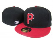 Wholesale Cheap Pittsburgh Pirates fitted hats 03