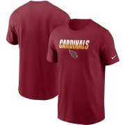 Wholesale Cheap Arizona Cardinals Nike Split T-Shirt Cardinal