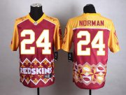 Wholesale Cheap Nike Redskins #24 Josh Norman Burgundy Red Men's Stitched NFL Elite Noble Fashion Jersey