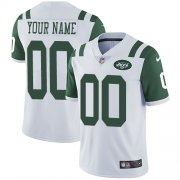 Wholesale Cheap Nike New York Jets Customized White Stitched Vapor Untouchable Limited Men's NFL Jersey