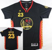 Wholesale Cheap Men's Golden State Warriors #23 Draymond Green Revolution 30 Swingman 2015 Chinese Black Fashion Jersey