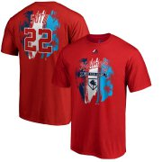 Wholesale Cheap Washington Nationals #22 Juan Soto Majestic 2019 Spring Training Name & Number T-Shirt Red