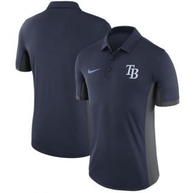 Wholesale Cheap Men\'s Tampa Bay Rays Nike Navy Franchise Polo