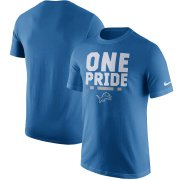 Wholesale Cheap Detroit Lions Nike Local Verbiage T-Shirt Blue