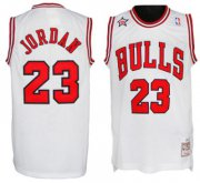 Wholesale Cheap NBA 1998 All-Star #23 Michael Jordan White Swingman Throwback Jersey