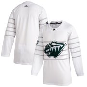 Wholesale Cheap Men's Minnesota Wild Adidas White 2020 NHL All-Star Game Authentic Jersey