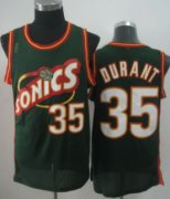 Wholesale Cheap Seattle Supersonics #35 Kevin Durant 1995-96 Green Swingman Jersey