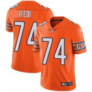 Wholesale Cheap Nike Bears #74 Germain Ifedi Orange Men's Stitched NFL Limited Rush Jersey