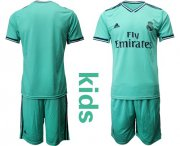 Wholesale Real Madrid Blank Third Kid Soccer Club Jersey