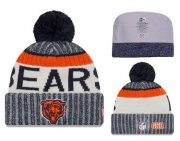 Wholesale Cheap NFL Chicago Bears Logo Stitched Knit Beanies 006