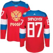 Wholesale Cheap Team Russia #87 Vadim Shipachyov Red 2016 World Cup Stitched NHL Jersey
