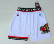 Wholesale Cheap Men's Memphis Grizzlies White Hardwood Classics Swingman Shorts