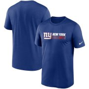 Wholesale Cheap New York Giants Nike Fan Gear Team Conference Legend Performance T-Shirt Royal
