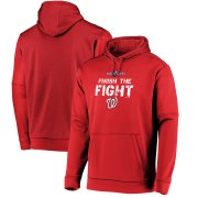 Wholesale Cheap Washington Nationals Majestic 2019 World Series Bound Collection Dugout Pullover Hoodie Red