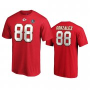 Wholesale Cheap Kansas City Chiefs #88 Tony Gonzalez Red 2019 Hall Of Fame NFL T-Shirt