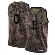 Wholesale Cheap Nike Rockets #0 Russell Westbrook Camo NBA Swingman Realtree Collection Jersey