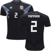 Wholesale Cheap Argentina #2 Mammana Away Soccer Country Jersey
