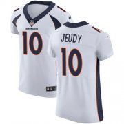 Wholesale Cheap Nike Broncos #10 Jerry Jeudy White Men's Stitched NFL New Elite Jersey