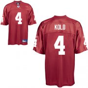 Wholesale Cheap Cardinals #4 Kevin Kolb All Red Alternate Stitched NFL Jersey