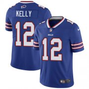 Wholesale Cheap Nike Bills #12 Jim Kelly Royal Blue Team Color Youth Stitched NFL Vapor Untouchable Limited Jersey