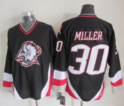 Wholesale Sabres #30 Ryan Miller Black CCM Throwback Stitched NHL Jersey