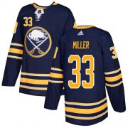 Wholesale Cheap Adidas Sabres #33 Colin Miller Navy Blue Home Authentic Stitched NHL Jersey