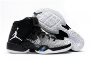 Wholesale Cheap Air Jordan 30.5 Retro Shoes Black/White-Blue