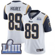 Wholesale Cheap Nike Rams #89 Tyler Higbee White Super Bowl LIII Bound Men's Stitched NFL Vapor Untouchable Limited Jersey