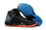 Wholesale Cheap Air Jordan 30.5 Russell Westbrook MVP Shoes Black/Total Orange-Hero Blue