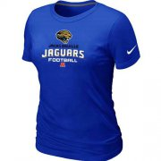 Wholesale Cheap Women's Nike Jacksonville Jaguars Critical Victory NFL T-Shirt Blue