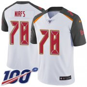 Wholesale Cheap Nike Buccaneers #78 Tristan Wirfs White Youth Stitched NFL 100th Season Vapor Untouchable Limited Jersey