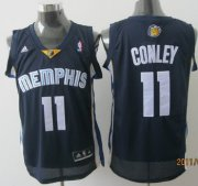 Wholesale Cheap Memphis Grizzlies #11 Mike Conley Navy Blue Swingman Jersey