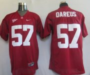 Wholesale Cheap Alabama Crimson Tide #57 Dareus Red Jersey