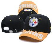 Wholesale Cheap Pittsburgh Steelers Snapback Ajustable Cap Hat TX