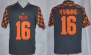 Wholesale Cheap Tennessee Volunteers #16 Peyton Manning 2014 Gray Jersey