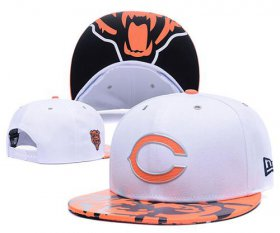 Wholesale Cheap NFL Chicago Bears Stitched Snapback Hats 014